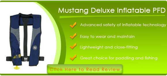 Mustang Deluxe Inflatable PFD (Manual)